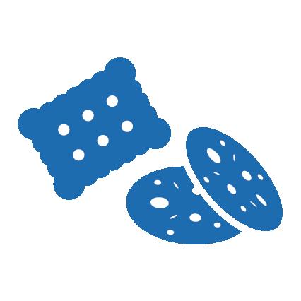 Sachet biscuits