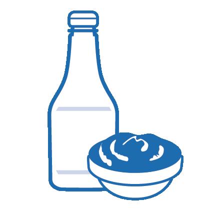 Sachet sauces & aliments déshydratés