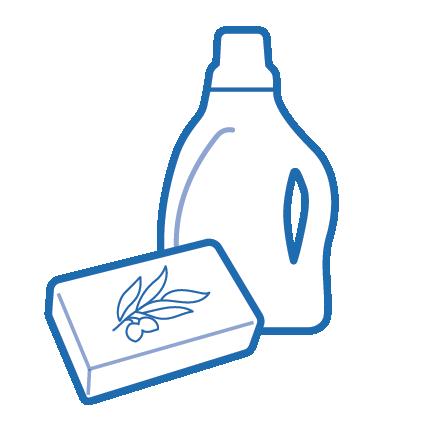 Sachet produits ménagers